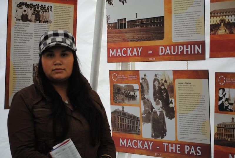 Flora Packo, daughter of residential school survivors. Photo: Marites N. Sison