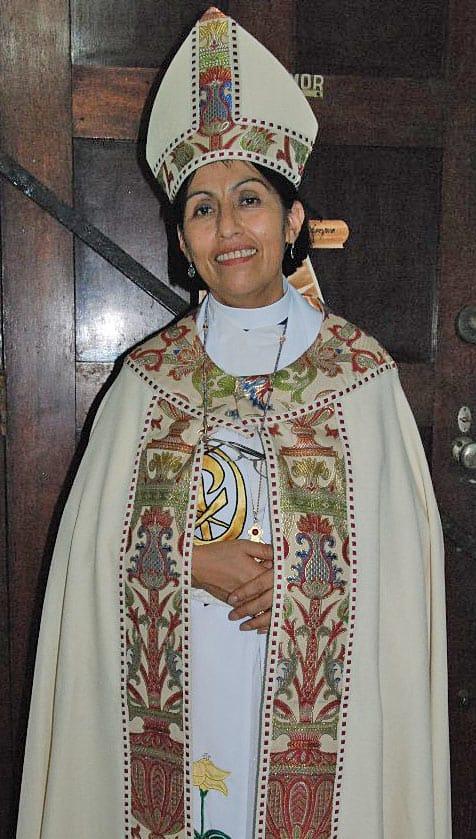 Bishop Griselda Delgado del Carpio Photo: Richard Schori