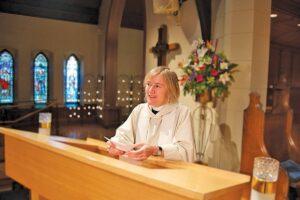Ellen Clark-King's book helps beginners spread their spiritual wings. Photo: Mark Munn
