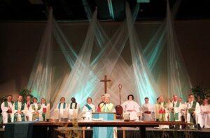 The closing eucharist at the last ELCIC Convention. Photo: Trina Gallop