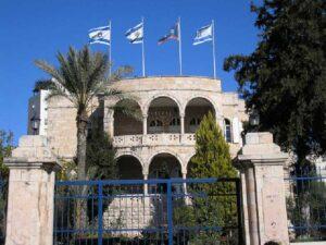 Vila Sherkessi, the headquarters of the International Christian Embassy in Jerusalem. Photo: Deror avi Wikimedia Commons