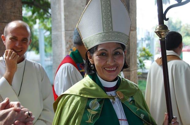 Bishop Griselda Delgado del Carpio, Episcopal Church of Cuba. Photo: General Synod Communications