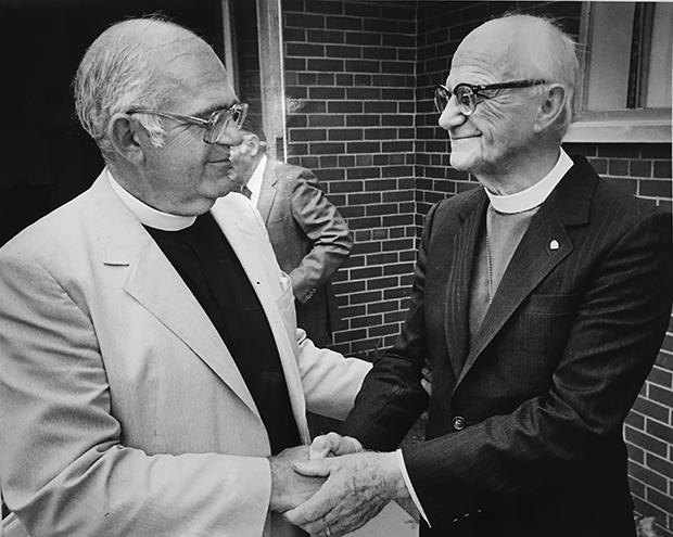 Bishop Bob Townshend mourned