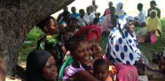 Vaccination day in Tanzania. Photo: Zaida Bastos