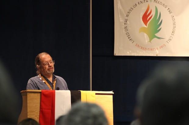 National Indigenous Anglican Bishop Mark MacDonald calls on Anglicans to be vigilant against climate injustice, saying