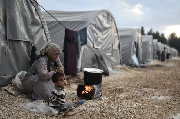 Syrians from Kobani, northern Syria, at the Suruc refugee camp in Turkey. Photo: Orlok/Shutterstock