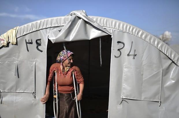 Syrian refugee in Suruc, the largest refugee camp in Turkey. Photo: Orlok/Shutterstock