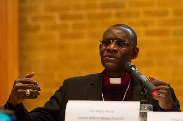 Archbishop Josiah Atkins Idowu-Fearon, secretary general of the Anglican Communion. Photo: Anglican Communion Archives
