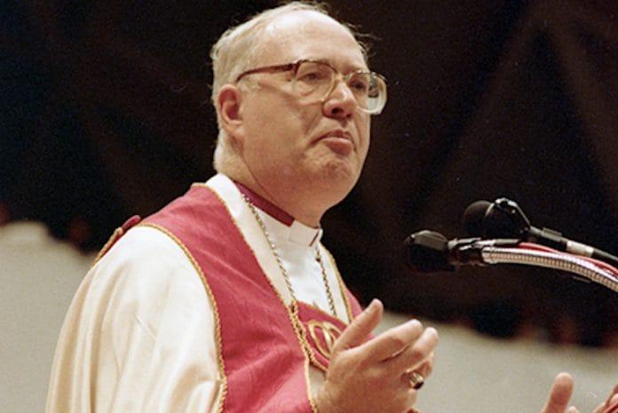 Former Archbishop of Canterbury Carey