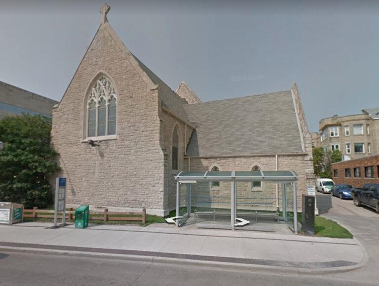 Homeless encampment presents quandary for Winnipeg Anglican church