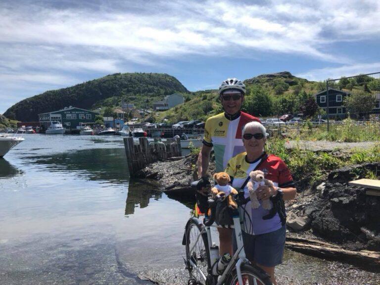 Bishop's cross-Canada ride raises more than $187,000